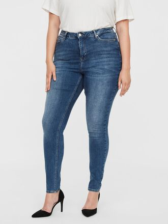 HIGH WAIST SKINNY FIT JEANS