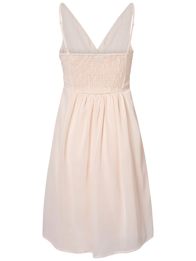 FEMININE PARTY DRESS, Peach Whip, large