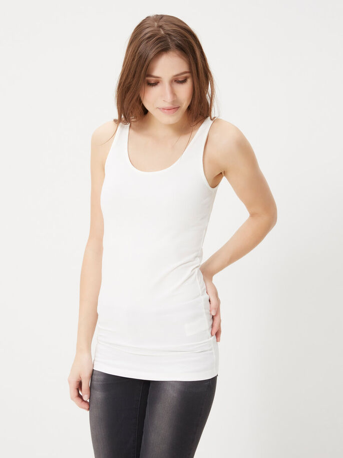 2-PACK WITH LONG TANK TOP, Snow White, large