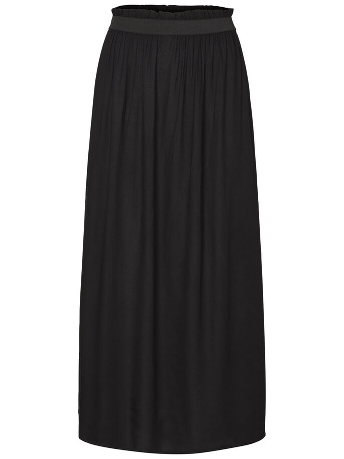 ANKLE SKIRT, Black, large