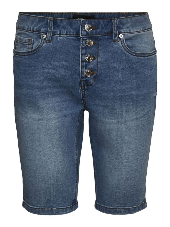 VMSEVEN TAILLE CLASSIQUE SHORT, Light Blue Denim, large