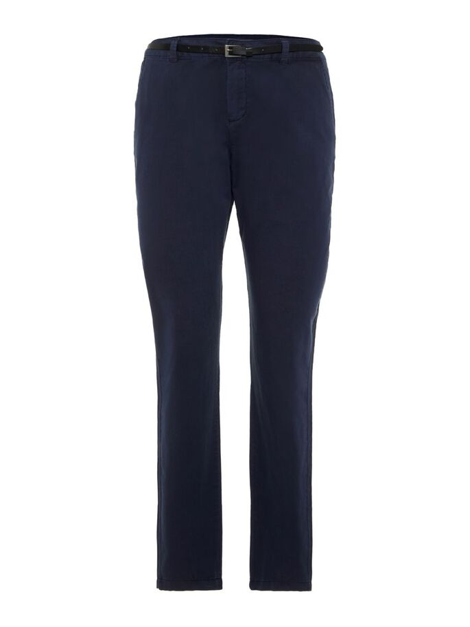 NORMAL WAIST TROUSERS, Night Sky, large