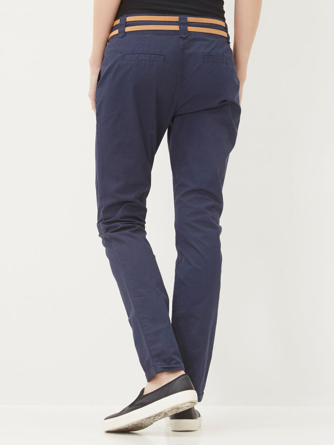 NW CARGO TROUSERS, Black Iris, large