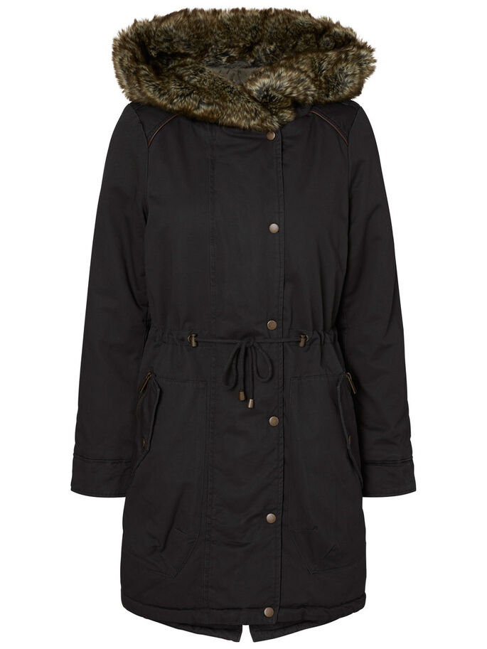 WINTER- PARKA, Black, large