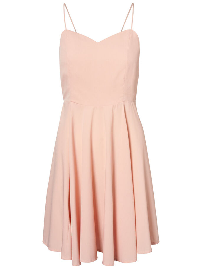 SLEEVELESS DRESS, Coral Cloud, large