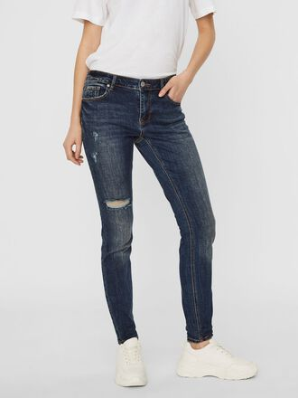 VMLYDIA LOW WAIST SKINNY FIT JEANS