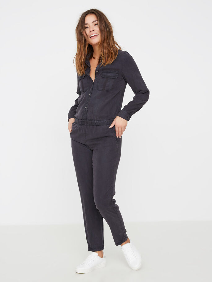 LYOCELL- JUMPSUIT, Black, large