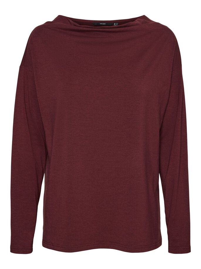 LONG SLEEVED KNITTED PULLOVER, Port Royale, large