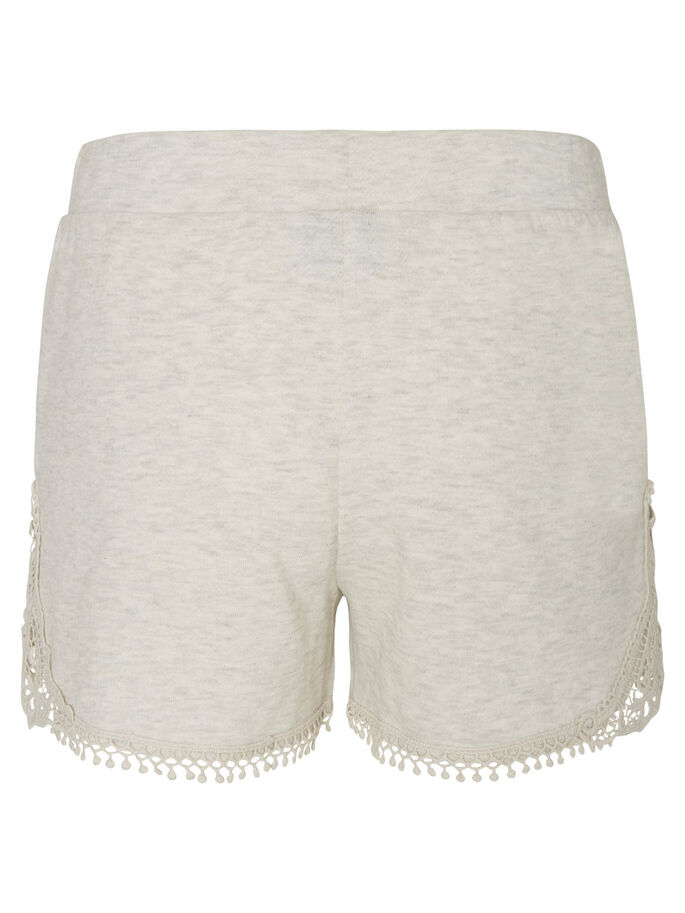 FEMININE SHORTS, Oatmeal, large