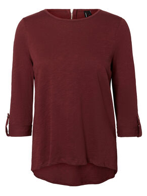 CASUAL BLUSE MED 3/4 ERMER