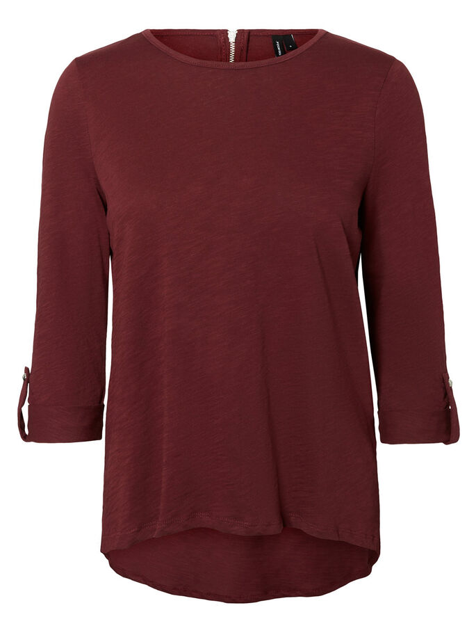 CASUAL 3/4 SLEEVED BLOUSE, Port Royale, large