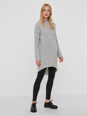EXTRA LONG KNITTED PULLOVER