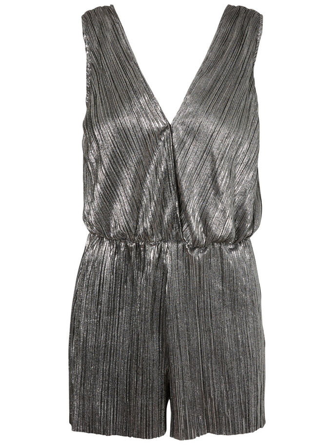 SLEEVELESS PLAYSUIT, Silver, large