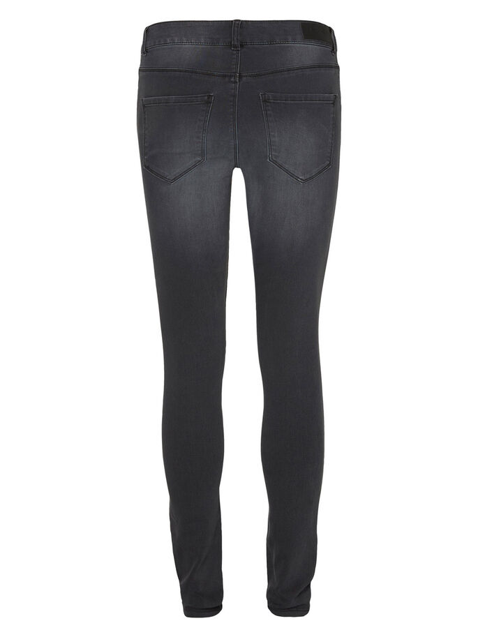 SEVEN NW SMOOTH SKINNY FIT JEANS, Dark Grey Denim, large