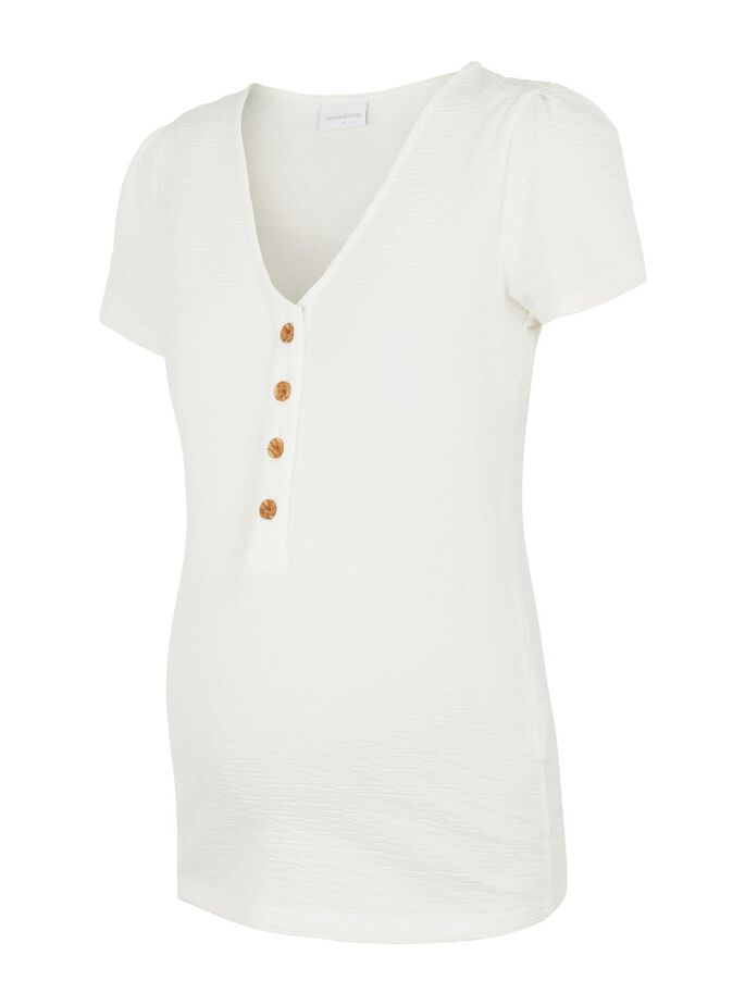 MLASIA 2-IN-1 MATERNITY TOP, Snow White, large