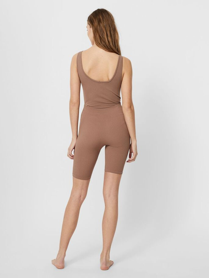 RELAXED FIT SHORTS, Brownie, large