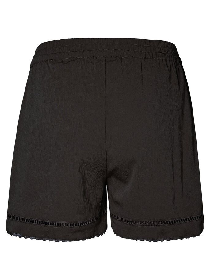 DENTELLE SHORTS, Black, large