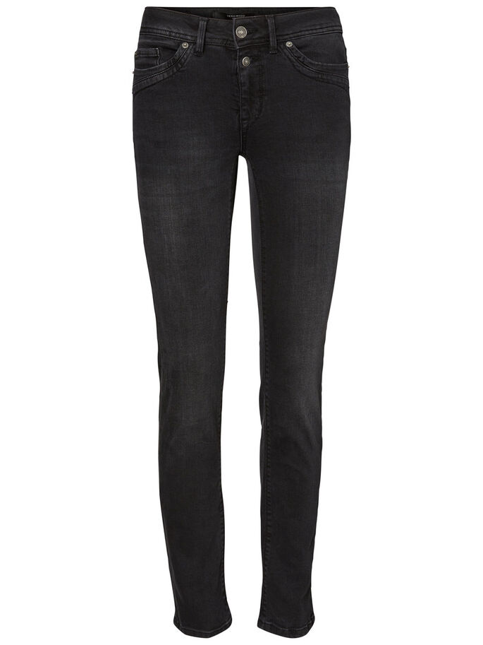 TAMMIE NW JEAN DROIT, Black, large