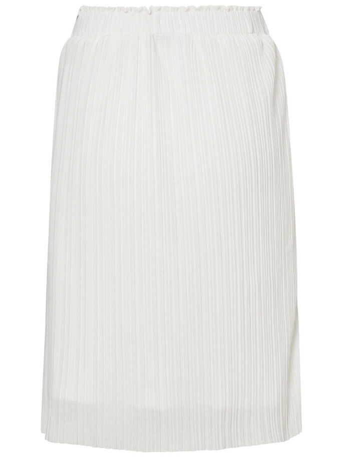 PLEAT SKIRT, Snow White, large