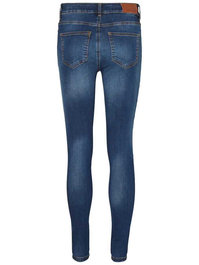 LUCY NW POWER SHAPE SKINNY FIT JEANS, Dark Blue Denim, large