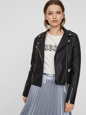 9e999d54a528 LEATHER-LOOK JACKET · LEATHER-LOOK JACKET. Vero Moda