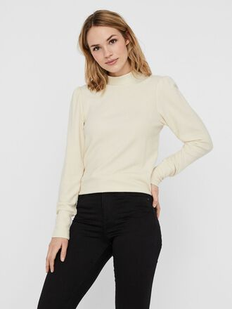 HIGH NECK KNITTED PULLOVER