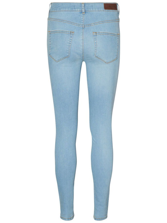 LUX NW SKINNY FIT JEANS, Medium Blue Denim, large