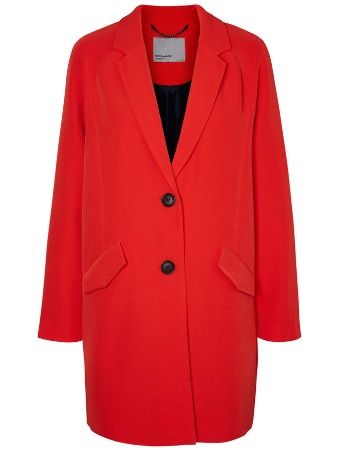 LONG JACKET, High Risk Red, large