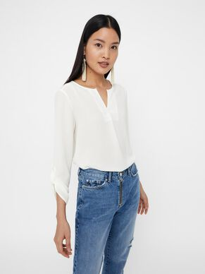 ea42a348dff1a 3 4 SLEEVED TOP