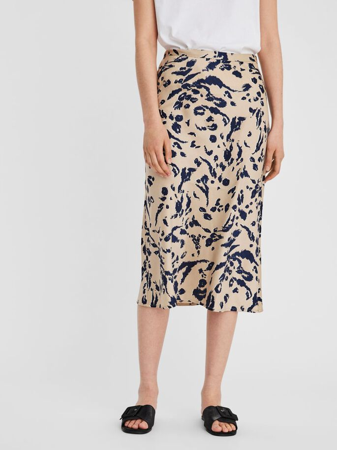 PRINTED MIDI SKIRT, Nomad, large