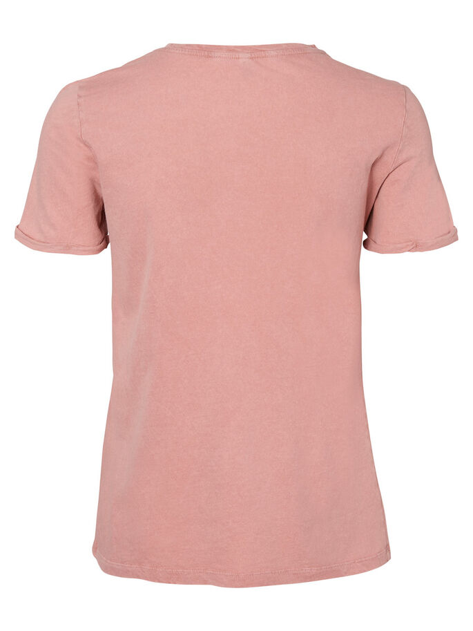 CASUAL T-SHIRT, Ash Rose, large