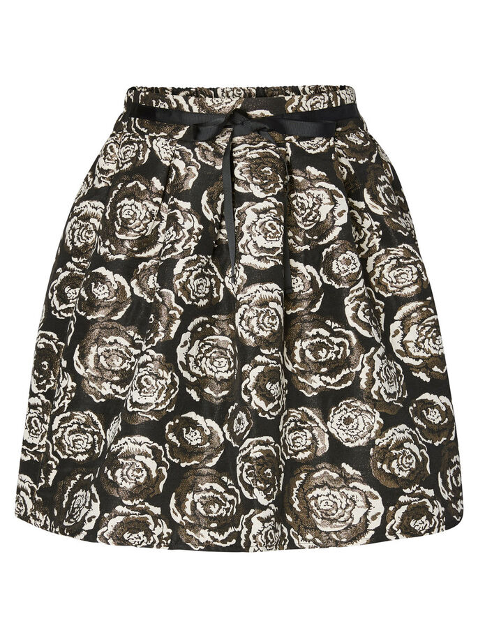 HW SHORT SKIRT, Black, large