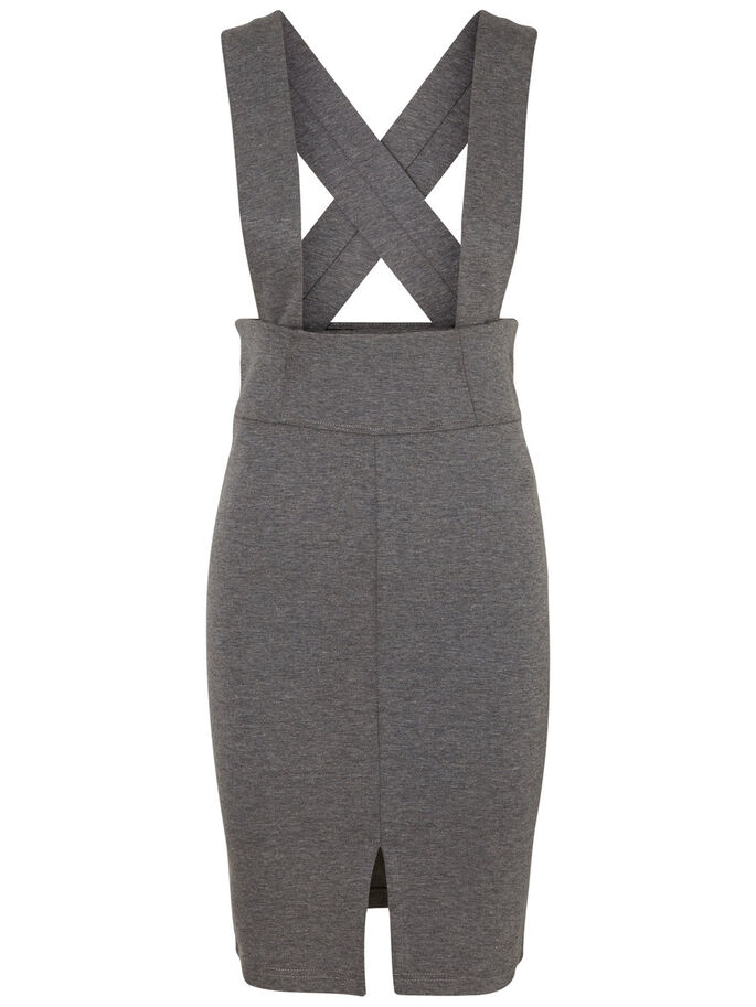 ÆRMELØS SPENCER, Medium Grey Melange, large