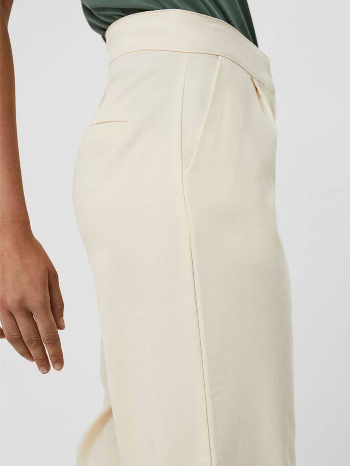 HIGH WAISTED TROUSERS, Birch, large