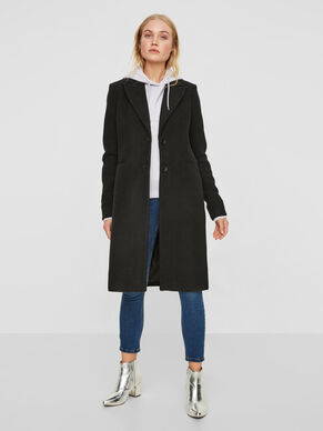 LONG WOOL JACKET