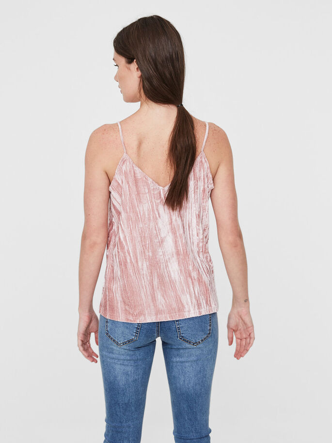 SAMT TOP, Ash Rose, large