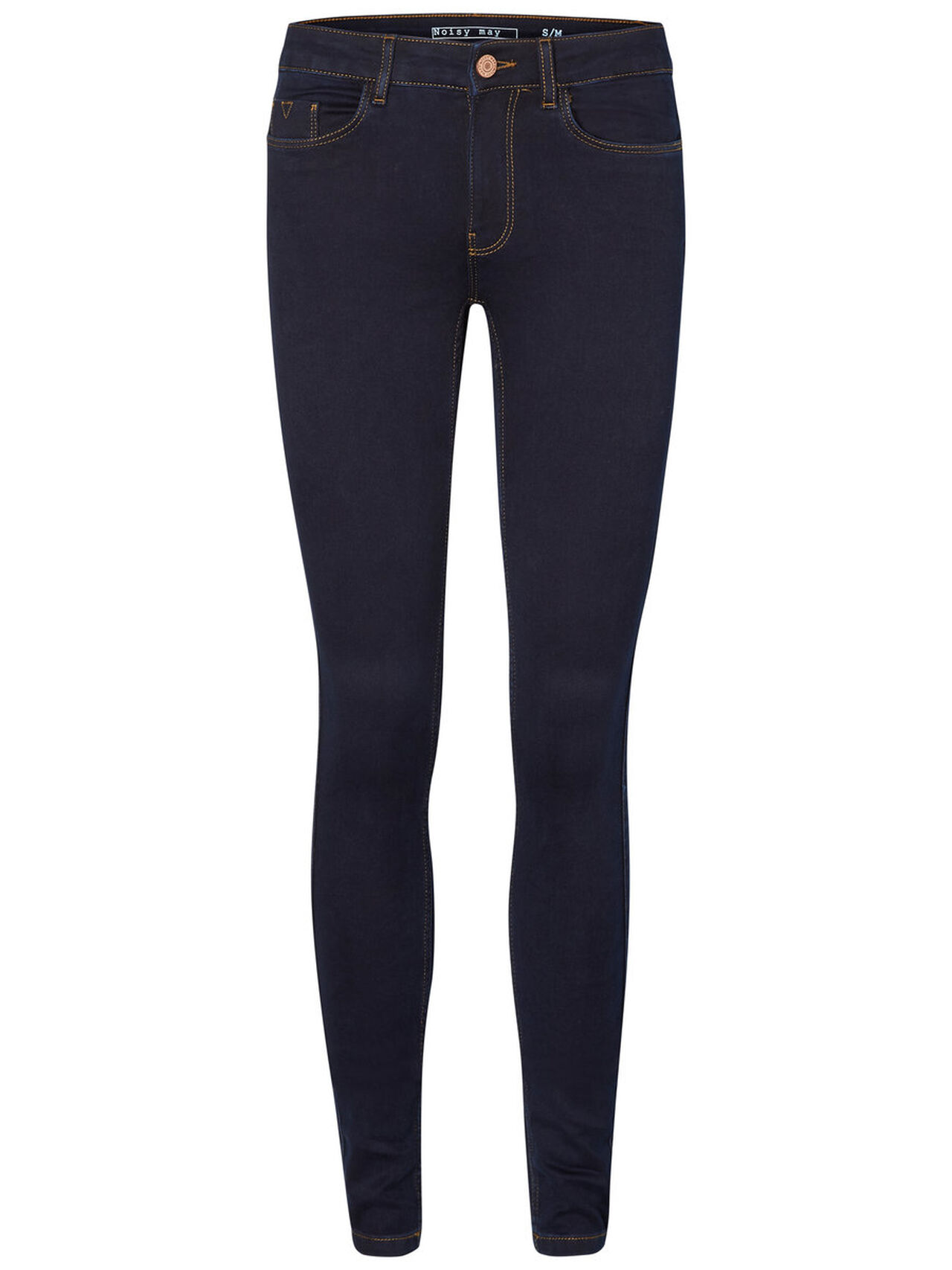 NOISY MAY Extreme Lucy Nw Skinny Fit Jeans Damen Blau