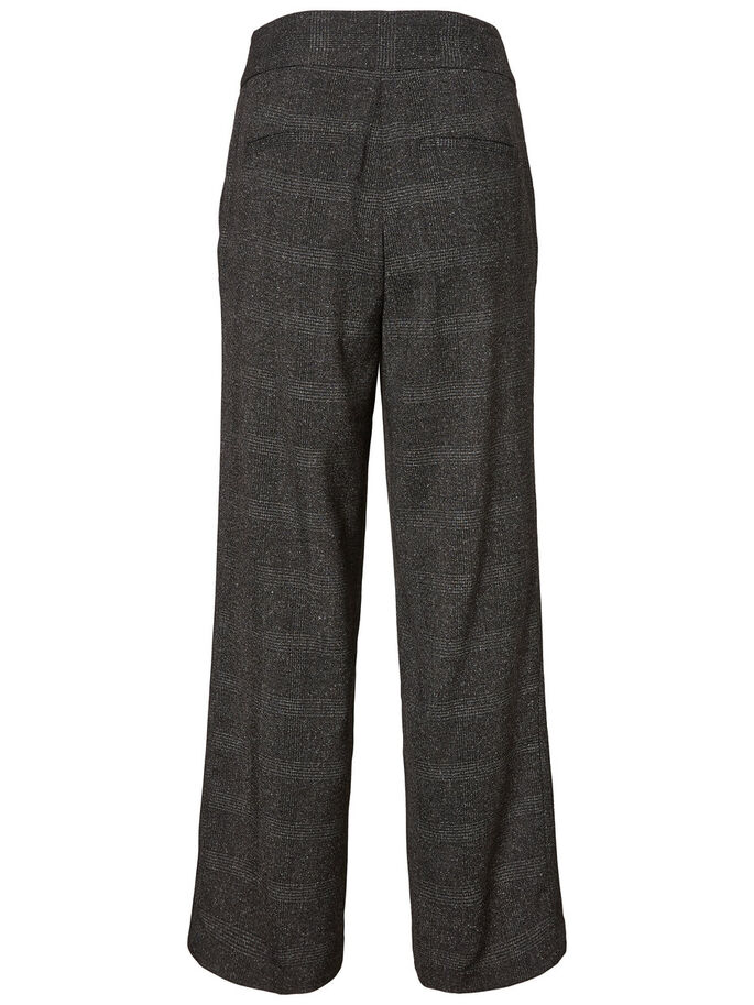WIDE HW TROUSERS, Dark Grey, large