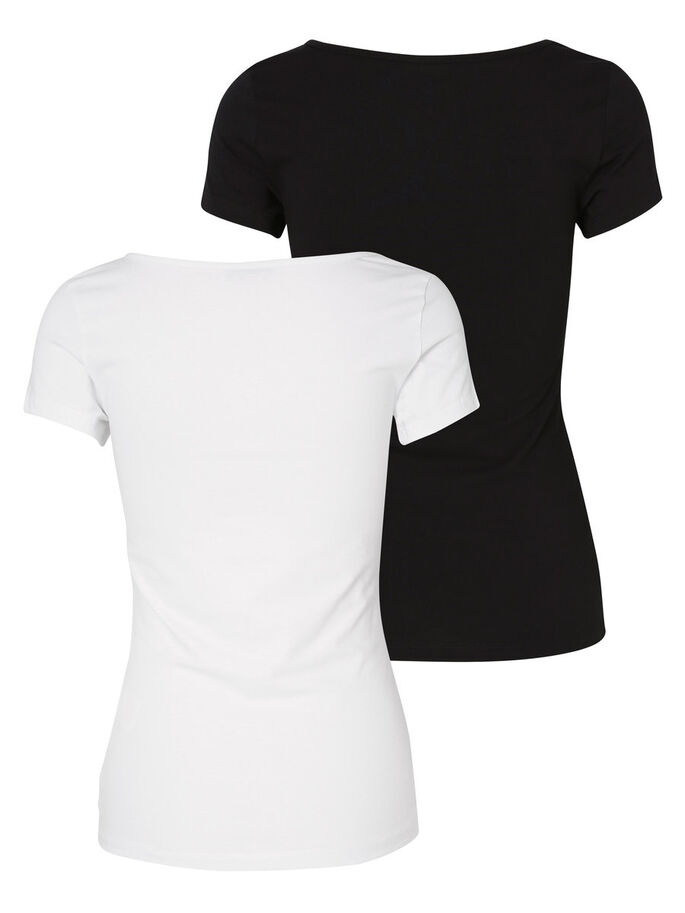 2-PACK MAXI T-SHIRT, Bright White, large