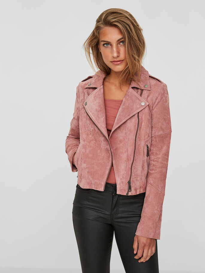 DAIM VESTE, Ash Rose, large