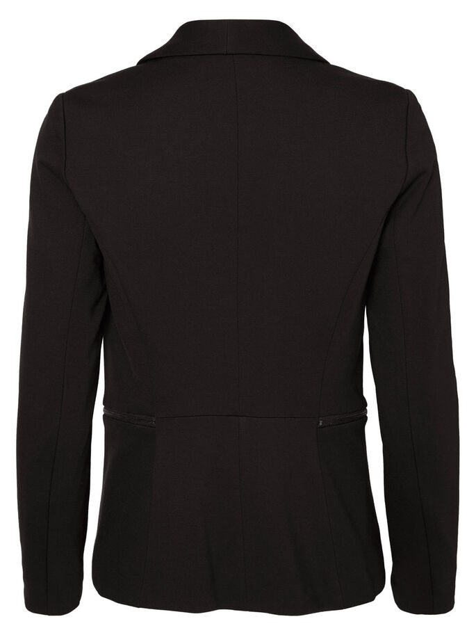 KORT BLAZER, Black, large