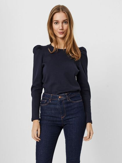 COL ROND BLOUSE