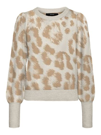 PRINTED KNITTED PULLOVER