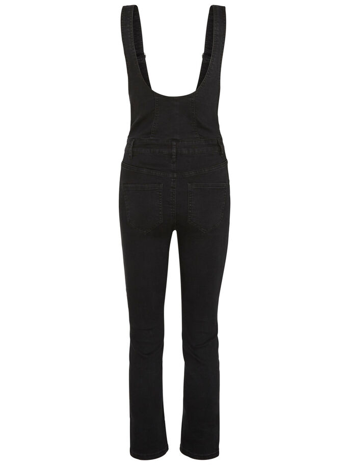 HW ANKLE JUMPSUIT, Black, large