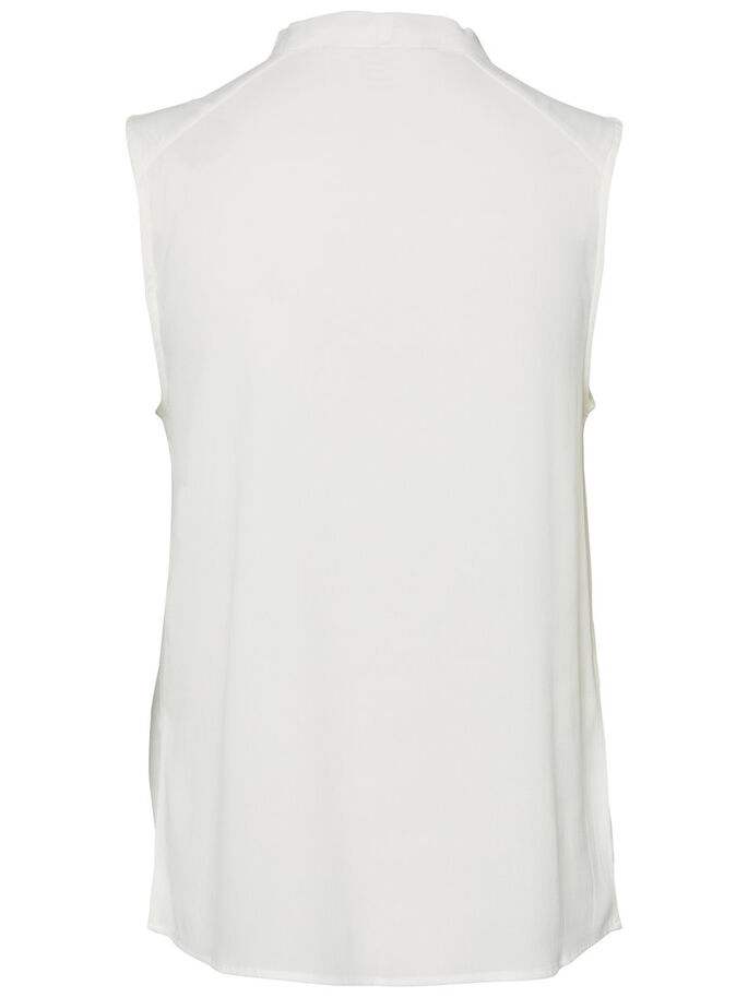 FEMININE SLEEVELESS TOP, Snow White, large