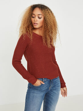 MANCHES LONGUES PULL EN MAILLE