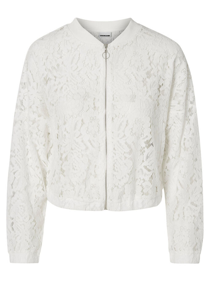 KANTEN BOMBER JAS, Snow White, large