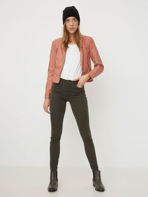 SEVEN NW SMOOTH SKINNY FIT JEANS