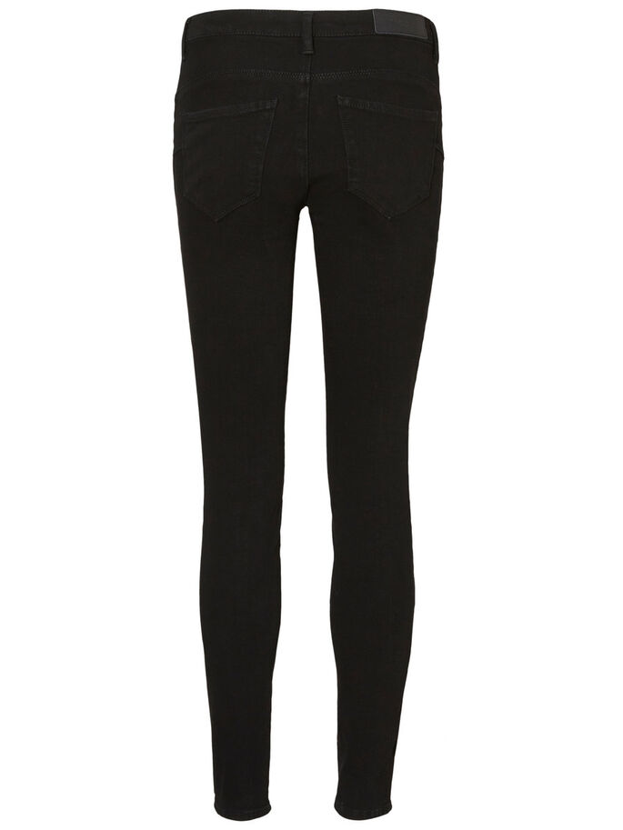 ICON NW PUSH UP JEANS, Black, large