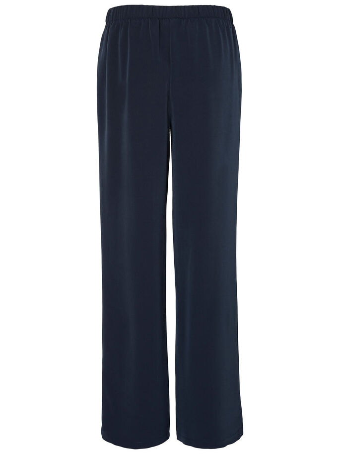 LOOSE FIT TROUSERS, Navy Blazer, large